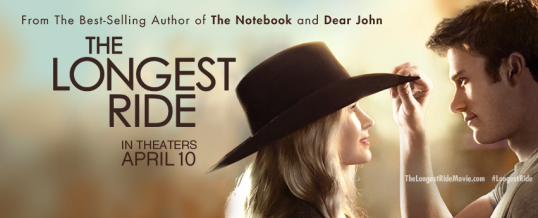 Looping for THE LONGEST RIDE Fox Feature Film|Opens 4/10/15