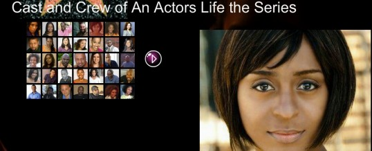 "Sophia Thomas is featured in ""An Actors Life: the Series"" created by Michele Baldwin"