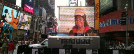 Protected: The Visitor in NYC Times Square!