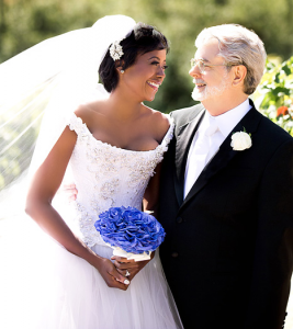 Mellody Hobson & Lucas wedding