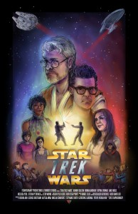 Star Trek Wars poster 2015