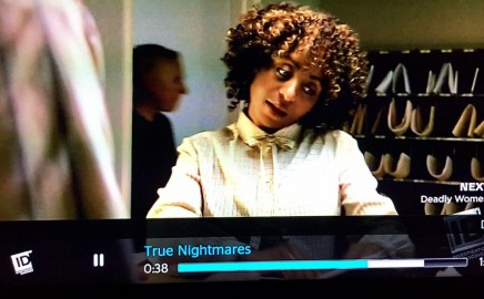 Sophia Thomas stars as Stephanie Taucher in TRUE NIGHTMARES! S2/E6
